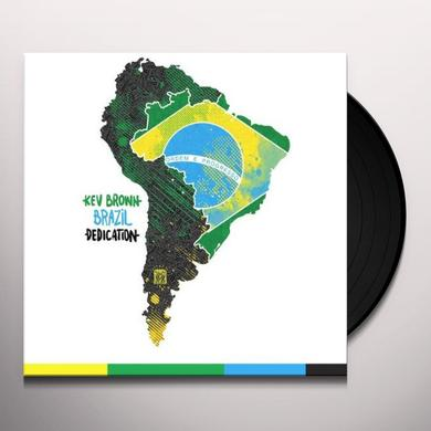 Kev Brown BRAZIL DEDICATION Vinyl Record - 10 Inch Single