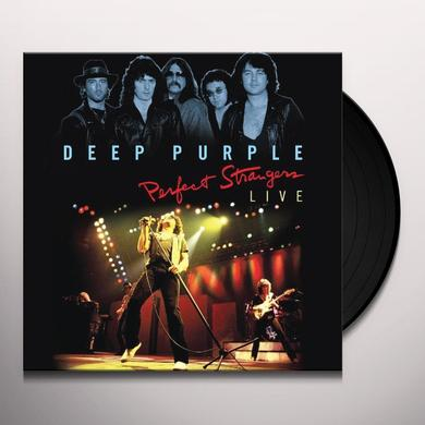 Deep Purple PERFECT STRANGERS LIVE Vinyl Record