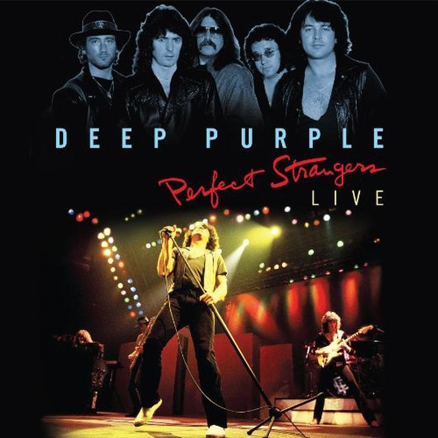 Deep Purple PERFECT STRANGERS LIVE Vinyl Record