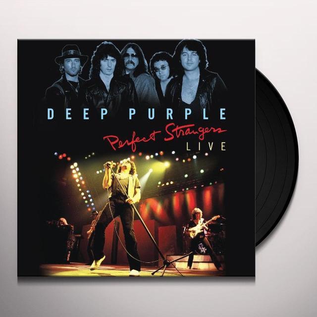 Deep Purple PERFECT STRANGERS LIVE  (W/DVD) Vinyl Record - w/CD