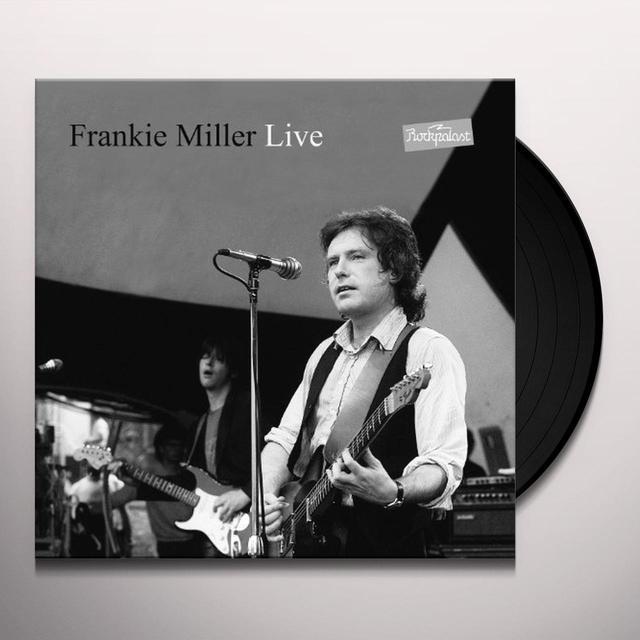 Frankie Miller LIVE AT ROCKPALAST Vinyl Record