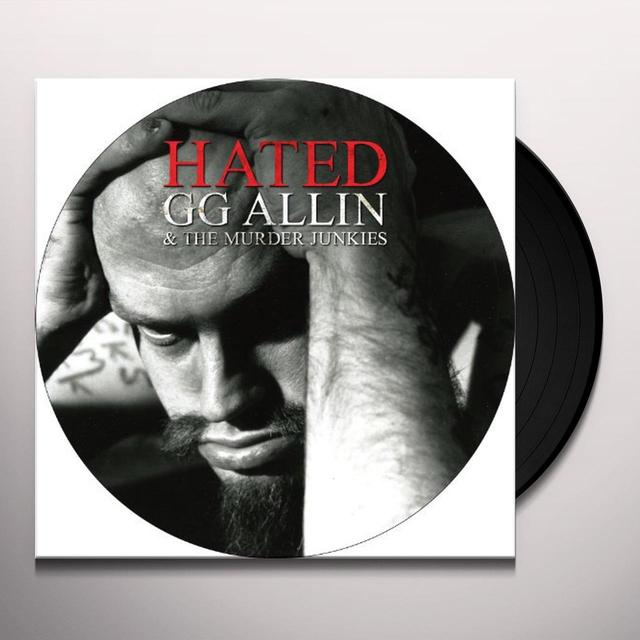Gg Allin HATED Vinyl Record