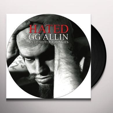 Gg Allin HATED (W/DVD) Vinyl Record