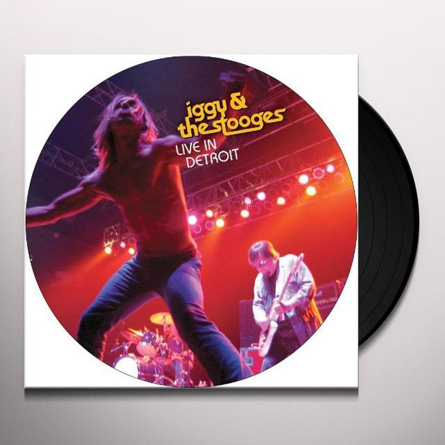 Iggy and the Stooges LIVE IN DETROIT 2003 (W/DVD) Vinyl Record