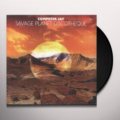 Computer Jay SAVAGE PLANET DISCOTHEQUE 2  (EP) Vinyl Record - 10 Inch Single