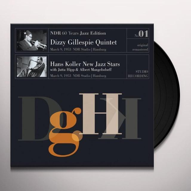 Dizzy Quintet Gillespie NDR 60 YEARS JAZZ EDITION 1 Vinyl Record