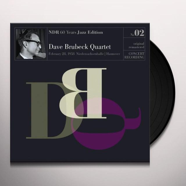 The Dave Brubeck Quartet NDR 60 YEARS JAZZ EDITION 2 Vinyl Record