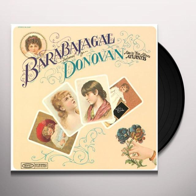 Donovan BARABAJAGAL Vinyl Record - Holland Import