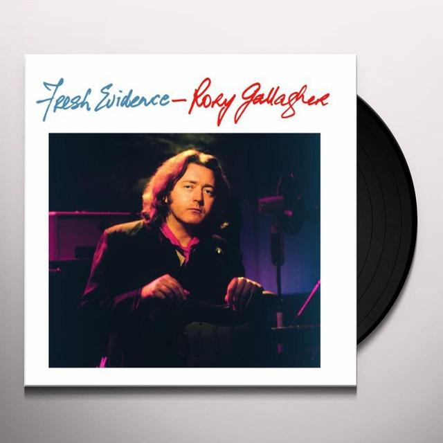 Rory Gallagher FRESH EVIDENCE Vinyl Record - Canada Import