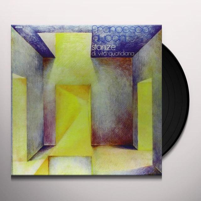 Rancesco Guccini STANZE DI VITA QUOTIDIANA Vinyl Record