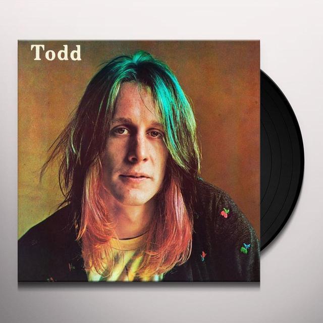 Todd Rundgren TODD Vinyl Record - Limited Edition, 180 Gram Pressing