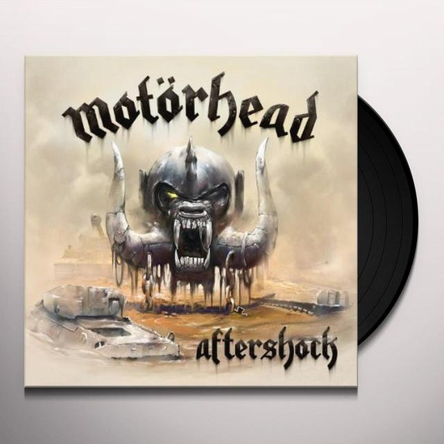 Motorhead AFTERSHOCK Vinyl Record