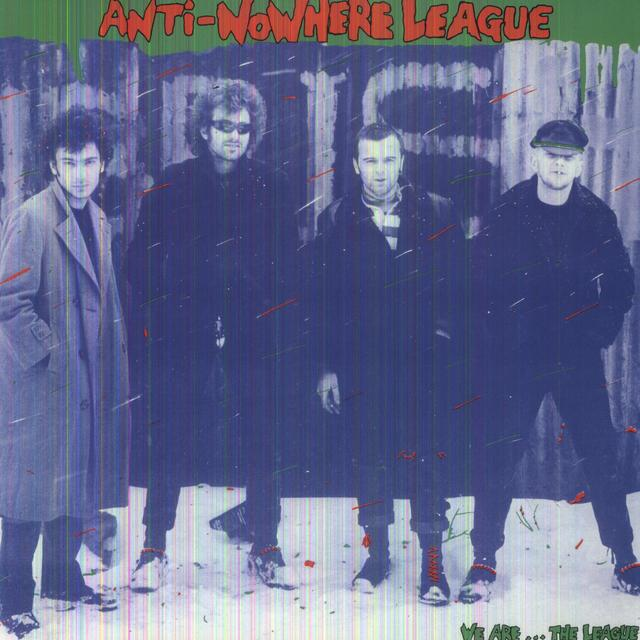 Anti-Nowhere League WE ARE THE LEAGUE Vinyl Record - Limited Edition