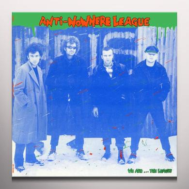 Anti-Nowhere League WE ARE THE LEAGUE Vinyl Record - Colored Vinyl, Limited Edition