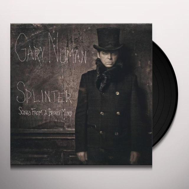 Gary Numan SPLINTER (SONGS FROM A BROKEN MIND) Vinyl Record
