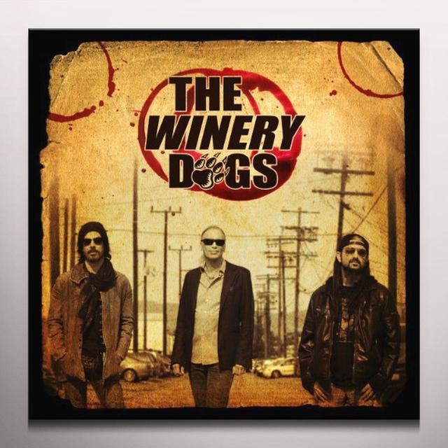 Winery Dogs WINERY DOG Vinyl Record - Clear Vinyl