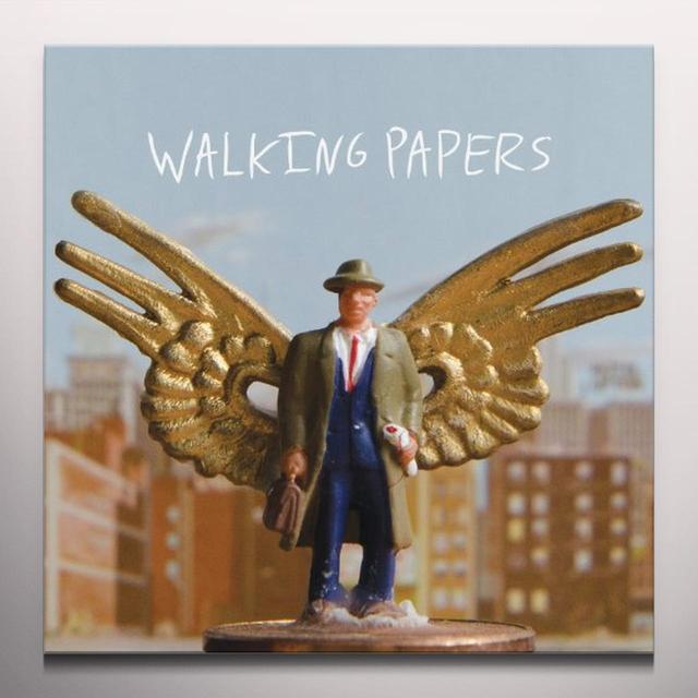 WALKING PAPERS Vinyl Record - Clear Vinyl