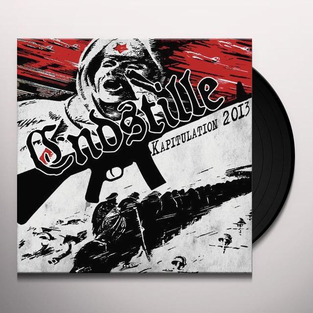 Endstille KAPITULATION 2013 Vinyl Record