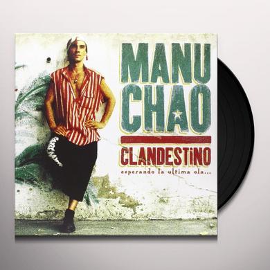 Manu Chao CLANDESTINO Vinyl Record - w/CD