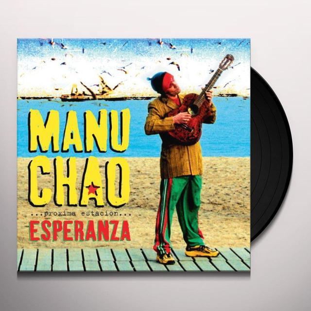 Manu Chao PROXIMA ESTACION: ESPERENZA Vinyl Record - w/CD