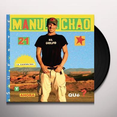Manu Chao RADIOLINA Vinyl Record - w/CD