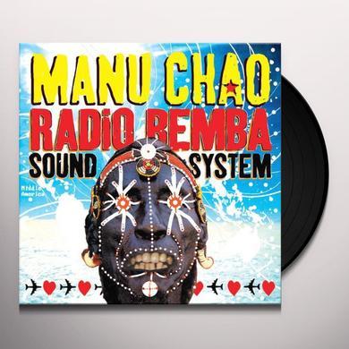 Manu Chao RADIO BEMBA SOUND SYSTEM Vinyl Record - w/CD