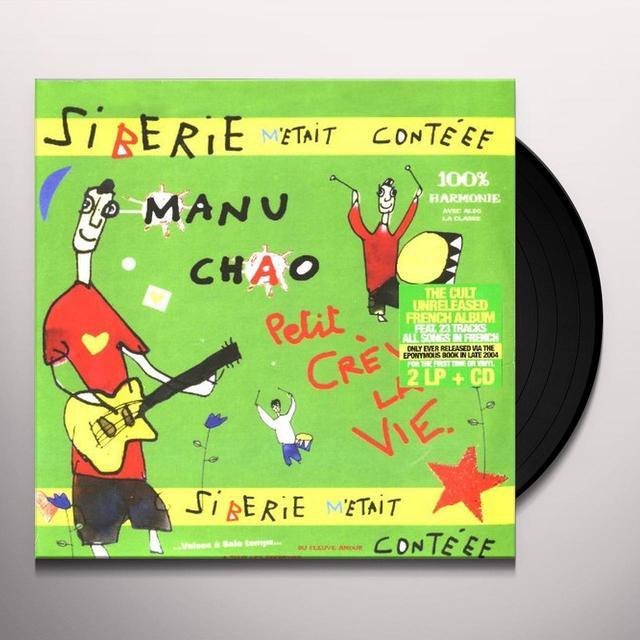 Manu Chao SIBERIE M'ETAIT CONTEEE Vinyl Record