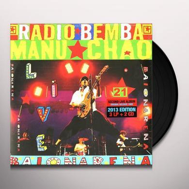 Manu Chao BAIONARENA Vinyl Record - w/CD