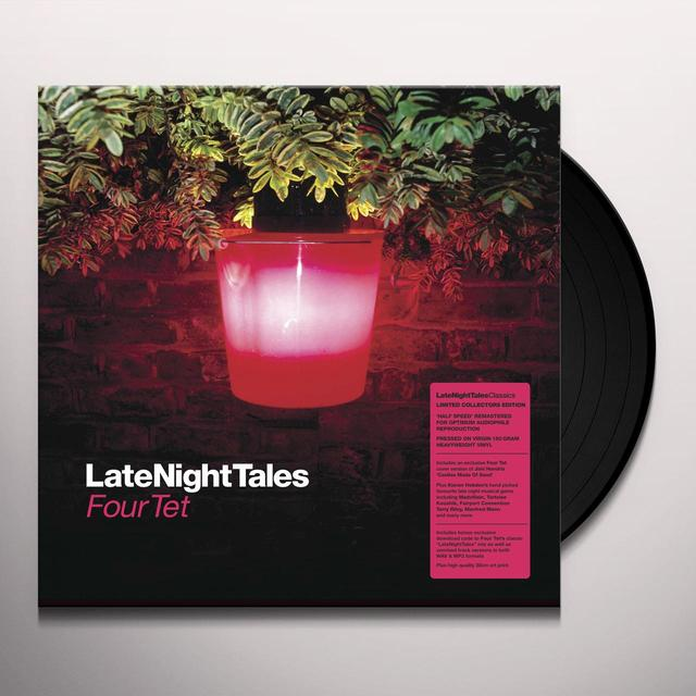 LATE NIGHT TALES: FOUR TET Vinyl Record - Black Vinyl, Gatefold Sleeve, 180 Gram Pressing