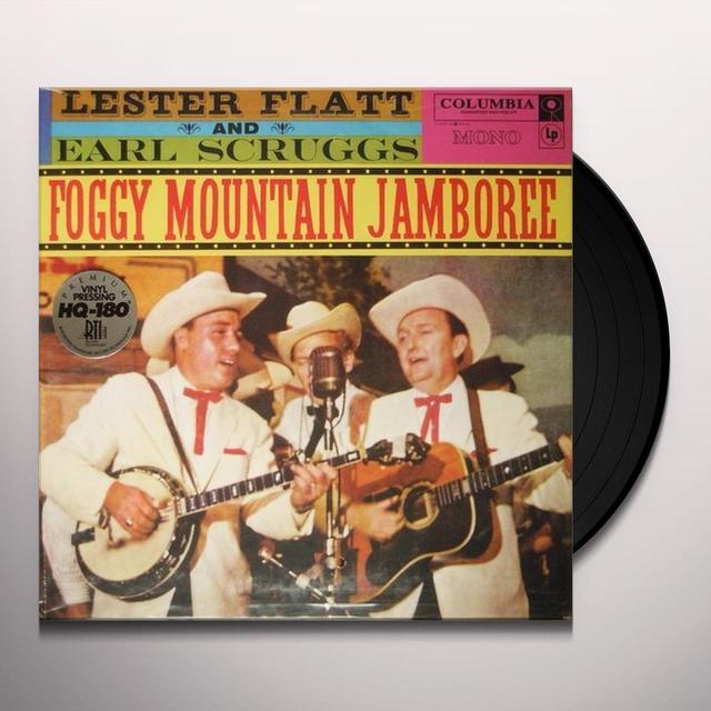 Lester Flatt / Earl Scruggs FOGGY MOUNTAIN JAMBOREE Vinyl Record - 180 Gram Pressing, Remastered, Mono