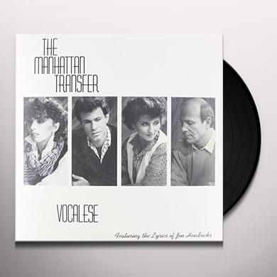 Manhattan Transfer VOCALESE Vinyl Record
