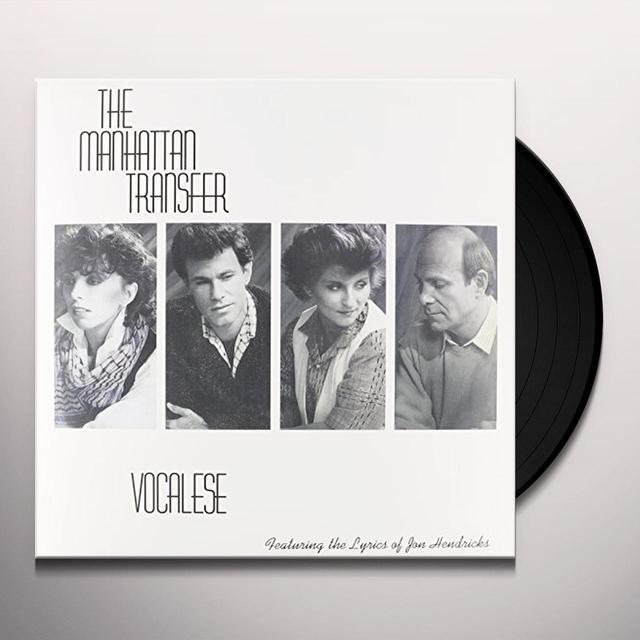 Manhattan Transfer VOCALESE Vinyl Record - 180 Gram Pressing, Remastered