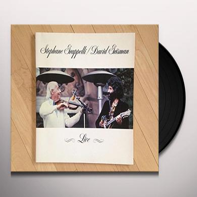 Stephane Grappelli / David Grisman LIVE Vinyl Record - Gatefold Sleeve, 180 Gram Pressing, Remastered