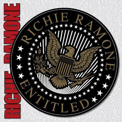 Richie Ramone ENTITLED Vinyl Record