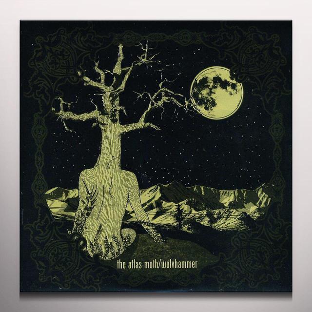 Atlas Moth / Wolvhammer SPLIT Vinyl Record - Colored Vinyl