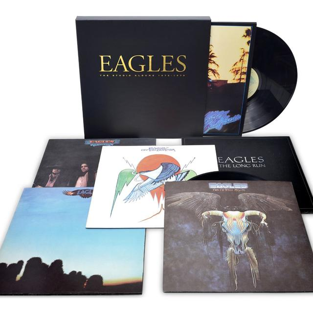 The Eagles and Glenn Frey STUDIO ALBUMS 1972-1979 Vinyl Record - 180 Gram Pressing
