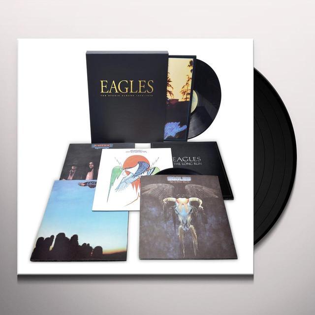 The Eagles and Glenn Frey STUDIO ALBUMS 1972-1979 Vinyl Record - 180 Gram Pressing