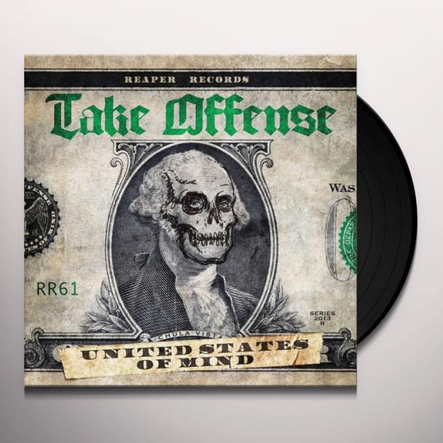 Take Offense UNITED STATES OF MIND Vinyl Record