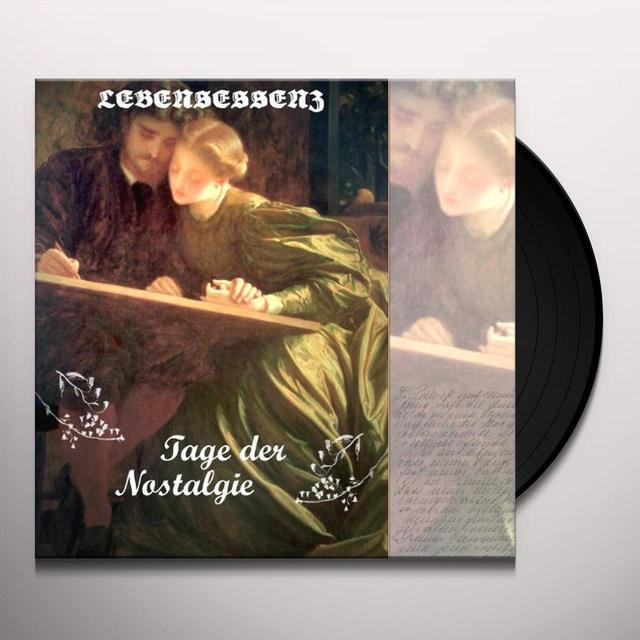 Lebensessenz TAGE DER NOSTALGIE Vinyl Record