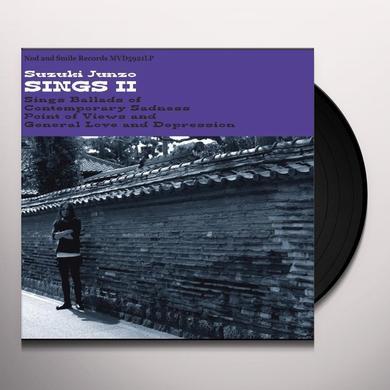 Suzuki Junzo SINGS II Vinyl Record