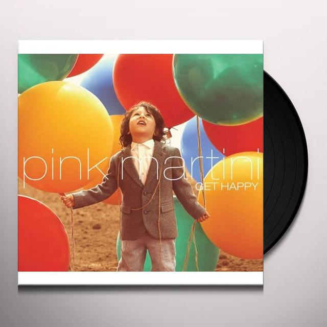Pink Martini GET HAPPY Vinyl Record