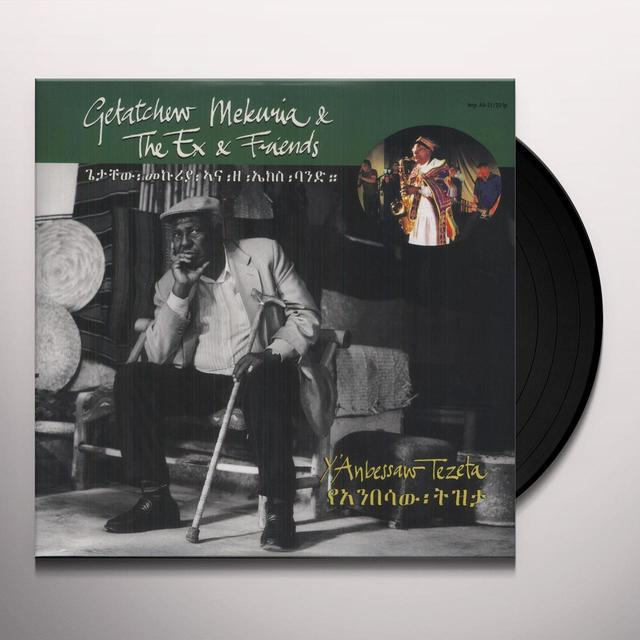 Ex & Getachew Mekuria Y'ANBESSAW TEZETA Vinyl Record