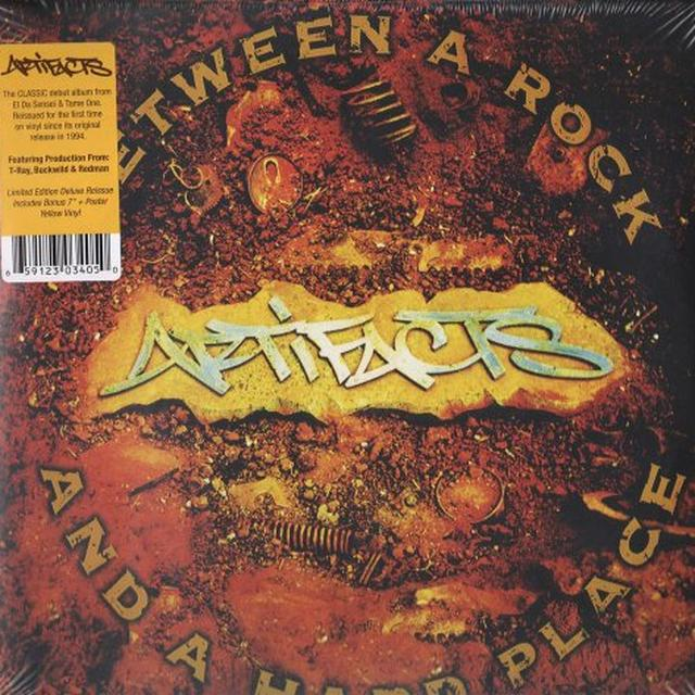 Artifacts BETWEEN A ROCK & A HARD PLACE Vinyl Record