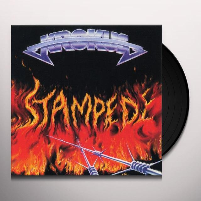 Krokus STAMPEDE Vinyl Record