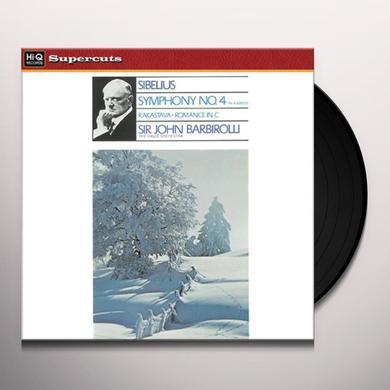 Barbirolli / Halle Orchestra SIBELIUS SYM 4 Vinyl Record
