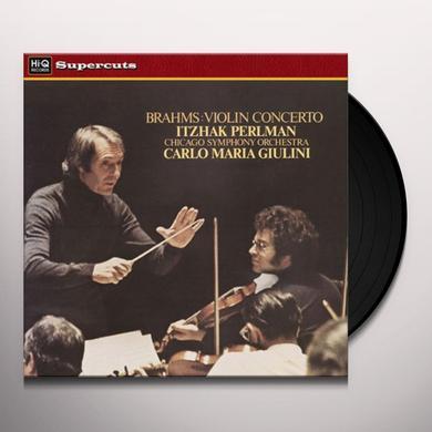 Itzhak / Chicago Symphony Orchestra BRAHMS VIOLIN CTO Vinyl Record