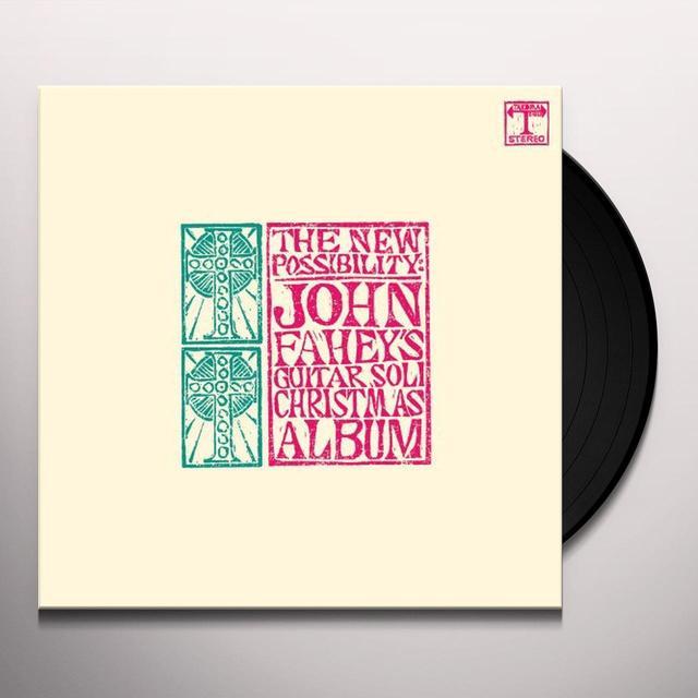 NEW POSSIBILITY: JOHN FAHEY'S GUITAR SOLI Vinyl Record