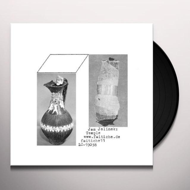 G.E.S. & Jan Jelinek TEMPLE Vinyl Record