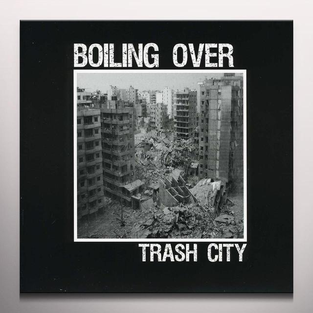 Boiling Over TRASH CITY Vinyl Record - Colored Vinyl