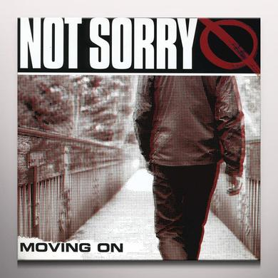 Not Sorry MOVING ON Vinyl Record - Clear Vinyl
